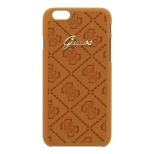Dėklas GUESS Scarlett iPhone 6 (rudas)