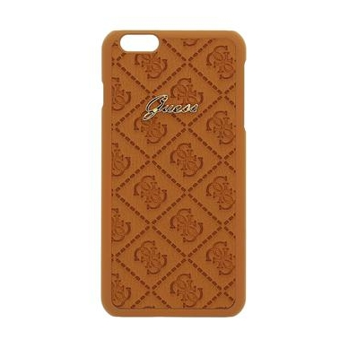 Dėklas GUESS Scarlett iPhone 6 plus (rudas)