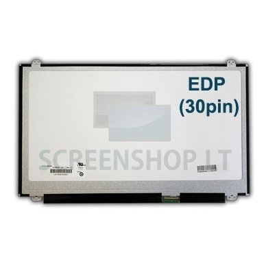Ekranas 15.6″ 1366×768 HD LED 30pin Slim EDP