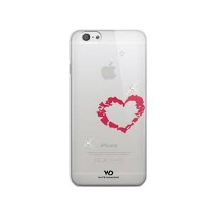 Dėklas White Diamonds Lipstick Heart case iPhone 6 Plus