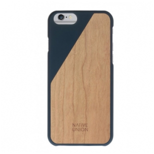 Dėklas Native Union CLIC Wooden case iPhone 6 Plus Mėlynas