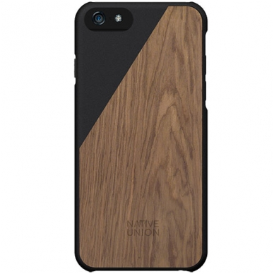 Dėklas Native Union CLIC Wooden case iPhone 6 Plus Juodas
