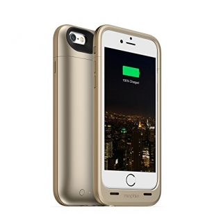 Dėklas-baterija Mophie iPhone 6 Juice Pack Plus Battery Case (Auksinė)