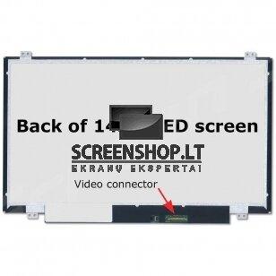 Nešiojamo kompiuterio ekranas matrica 14″ 1366×768 HD LED 30pin Slim