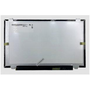 """Nešiojamo kompiuterio ekranas matrica 14.0"""" 1600x900 HD+, LED, SLIM, matinis, 40pin (dešinė), A+"""