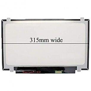 """Nešiojamo kompiuterio ekranas matrica 14.0"""" 1920x1080 FHD, LED, IPS, SLIM, matinė, 30pin (dešinėje) 315mm"""