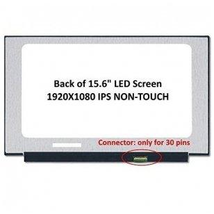 Nešiojamo kompiuterio ekranas matrica 15.6″ 1920×1080 FULL HD IPS 30pin Slim EDP 350mm