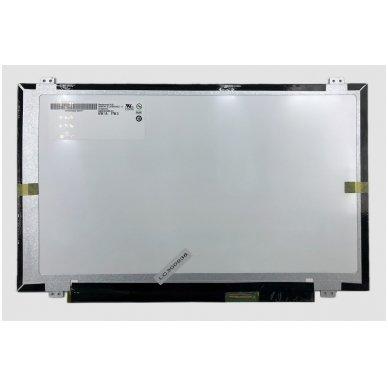 """Ekranas 14.0"""" 1600x900 HD+, LED, SLIM, matinis, 40pin (dešinė), A+"""