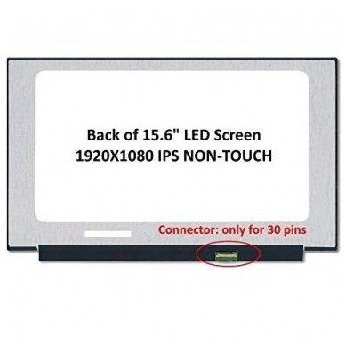 Ekranas 15.6″ 1920×1080 FULL HD IPS 30pin Slim EDP 350mm su arba be laikiklių