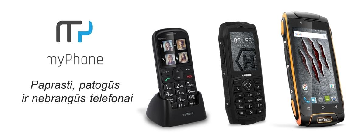 Myphone telefonai